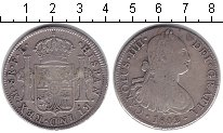 Изображение Монеты Испания 8 реалов 1802 Серебро VF