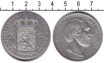 Изображение Монеты Нидерланды 2 1/2 гульдена 1870 Серебро  Вильям III