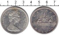 Изображение Монеты Канада 1 доллар 1966 Серебро XF