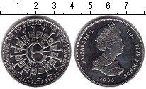 Изображение Монеты Тристан-да-Кунья 5 фунтов 2006 Медно-никель UNC-