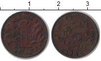 Изображение Монеты Эстония 1 сент 1929 Медь XF