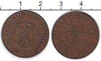 Изображение Мелочь Нидерландская Индия 1 цент 1914 Медь XF