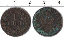 Изображение Монеты Немецкая Африка 1 геллер 1913 Медь VF