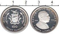 Изображение Монеты Гвинея 100 франков 1969 Серебро Proof-