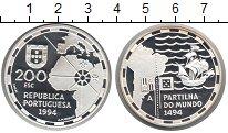 Изображение Монеты Португалия 200 эскудо 1994 Серебро UNC Великие открытия