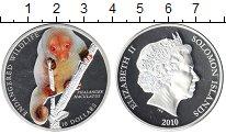 Изображение Монеты Соломоновы острова 10 долларов 2010 Серебро Proof-