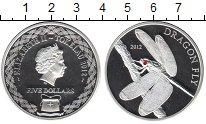 Изображение Монеты Токелау 5 долларов 2012 Серебро Proof- Стрекоза