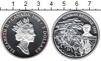 Изображение Монеты Канада 5 долларов 1998 Серебро Proof- Елизавета II. Норман