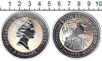 Изображение Монеты Австралия 2 доллара 1993 Серебро Proof