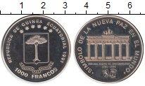 Изображение Монеты Экваториальная Гвинея 1000 франков 1991 Медно-никель UNC- Бранденбургские воро