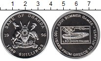 Изображение Монеты Уганда 1000 шиллингов 1996 Медно-никель UNC