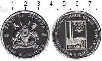 Изображение Монеты Уганда 1000 шиллингов 1996 Медно-никель UNC-