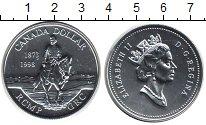 Изображение Монеты Канада 1 доллар 1998 Серебро UNC- Елизавета II. Всадни