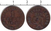 Изображение Монеты Гессен-Кассель 1 геллер 1834 Медь VF