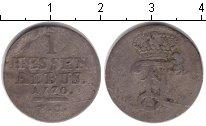 Изображение Монеты Гессен-Кассель 1 альбус 1770 Серебро VF