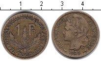 Изображение Монеты Того 1 франк 1925 Медь XF