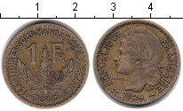 Изображение Монеты Того 1 франк 1924 Медь XF