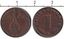 Изображение Монеты Третий Рейх 1 пфенниг 1937 Медь XF E