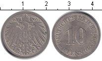 Изображение Монеты Германия 10 пфеннигов 1890 Медно-никель XF