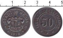 Изображение Монеты Саксония 50 пфеннигов 1918 Железо XF