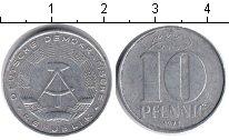 Изображение Монеты ГДР 10 пфеннигов 1973 Алюминий XF