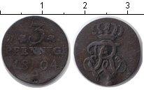 Изображение Монеты Пруссия 3 пфеннига 1804 Серебро VF
