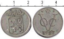 Изображение Монеты Нидерландская Индия 1 дьюит 1757 Серебро VF
