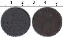 Изображение Монеты Австрия 1 крейцер 1816 Медь VF