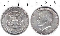 Изображение Мелочь США 1/2 доллара 1968 Серебро UNC-