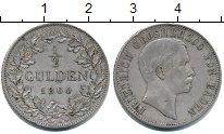 Изображение Монеты Баден 1/2 гульдена 1864 Серебро VF