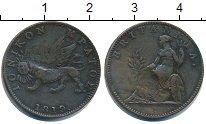 Изображение Монеты Ионические острова 2 лепты 1819 Медь VF