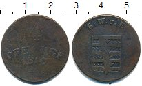 Изображение Монеты Саксен-Веймар-Эйзенах 4 пфеннига 1810 Медь