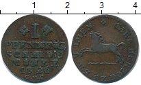 Изображение Монеты Брауншвайг-Люнебург 1 пфенниг 1826 Медь XF
