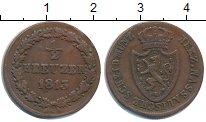 Изображение Монеты Нассау 1/2 крейцера 1813 Медь XF