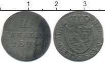 Изображение Монеты Нассау 3 крейцера 1826 Серебро