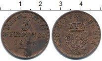 Изображение Монеты Пруссия 3 пфеннига 1868 Медь XF