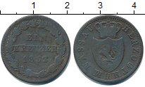 Изображение Монеты Нассау 1 крейцер 1832 Медь