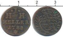 Изображение Монеты Саксония 1 хеллер 1788 Медь VF