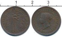 Изображение Монеты Цейлон Цейлон 1870 Медь