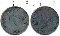 Изображение Монеты Третий Рейх 10 пфеннигов 1943 Цинк VF