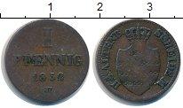 Изображение Монеты Саксен-Альтенбург 1 пфенниг 1852 Медь