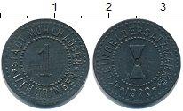 Изображение Монеты Нотгельды 1 пфенниг 1920 Цинк XF Мюльхаузен.