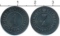 Изображение Монеты Нотгельды 1 пфенниг 1920 Цинк XF