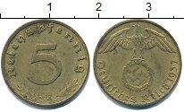 Изображение Монеты Третий Рейх 5 пфеннигов 1937  XF