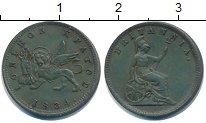Изображение Монеты Ионические острова 1 лепт 1834 Медь XF