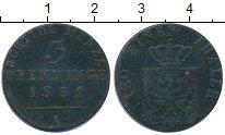Изображение Монеты Пруссия 3 пфеннига 1831 Медь