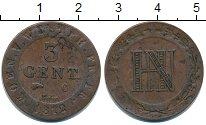Изображение Монеты Вестфалия 3 сентима 1812 Медь