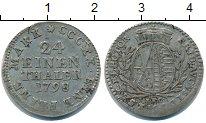 Изображение Монеты Саксония 1/24 талера 1798 Серебро