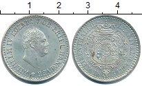 Изображение Монеты Ганновер 1/6 талера 1834 Серебро UNC- Вильгельм IV.