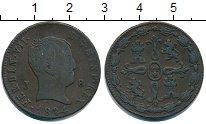 Изображение Монеты Испания 8 мараведи 1824 Медь